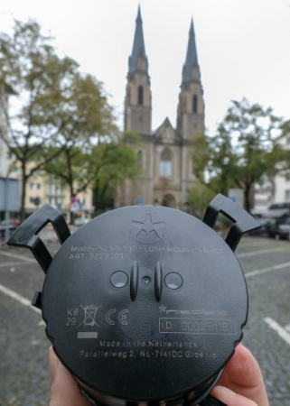 Vernetzte Parkplätze – Pilotprojekt Stiftsplatz in Bonn