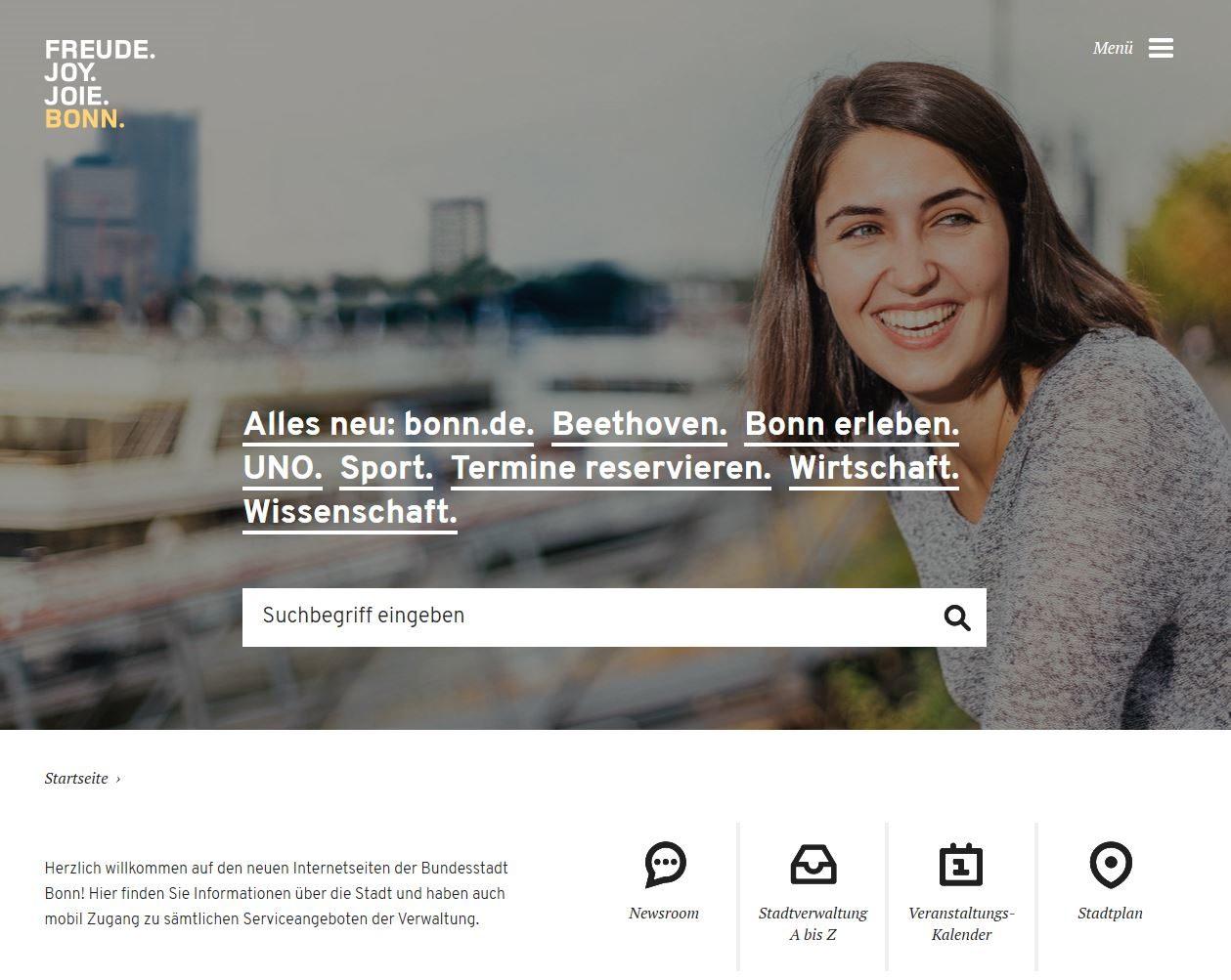 Alles neu: Relaunch bonn.de