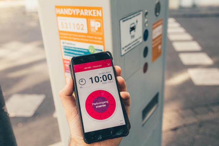 """""""Park and Joy"""": App erleichtert Parkplatzsuche"""
