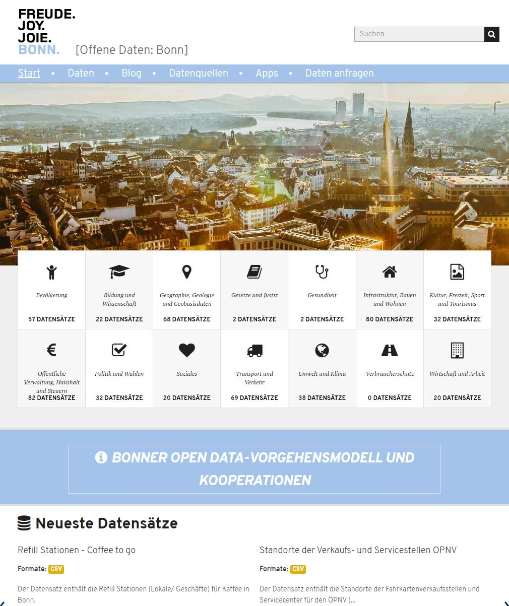 Open Data Portal ist relaunched
