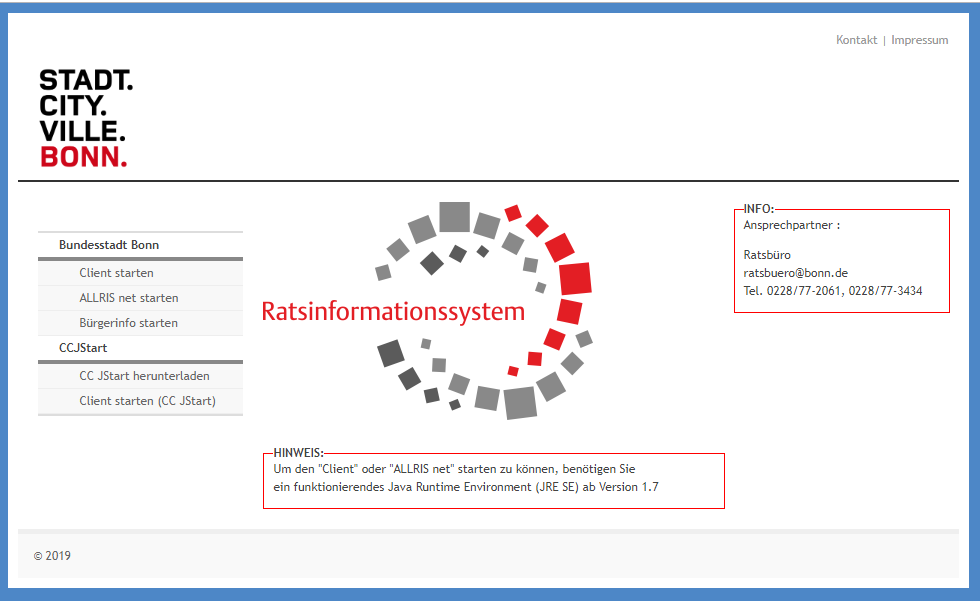 Neues Ratsinformationssystem BoRIS 2.0 gestartet