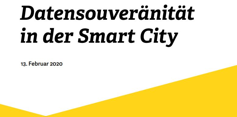 Datensouveränität in der Smart City