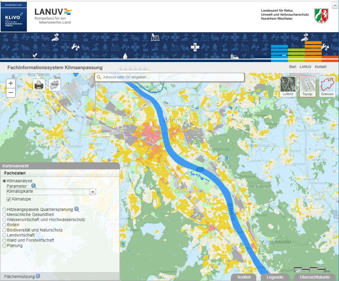 Online-Tool hilft Stadtplanern bei der Anpassung an die Folgen des Klimawandels
