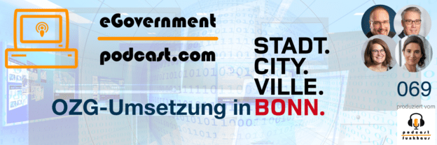 eGovernment Podcast zu OZG